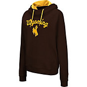 Colosseum Women's Wyoming Cowboys Brown Louise Pullover Sweatshirt