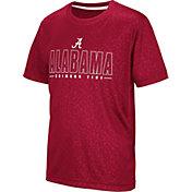 Colosseum Youth Alabama Crimson Tide Crimson Geoweb T-Shirt