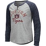 Colosseum Youth Girls' Auburn Tigers Grey Rita Long Sleeve T-Shirt