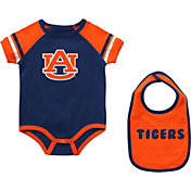 Colosseum Infant Auburn Tigers Blue Warner 2-Piece Onesie Set