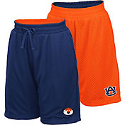 Colosseum Youth Auburn Tigers Blue/Orange Field Trip Reversible Shorts