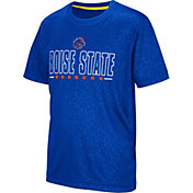 Colosseum Youth Boise State Broncos Blue Geoweb T-Shirt