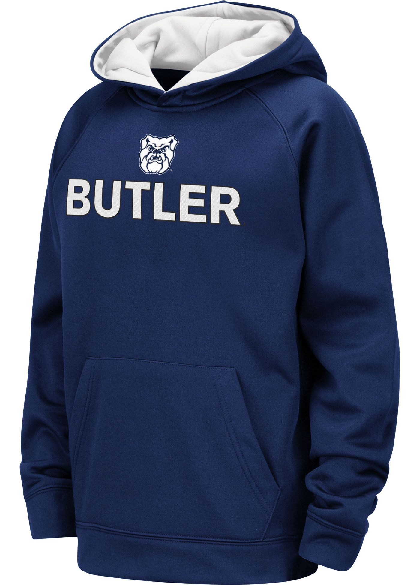 Colosseum Youth Butler Bulldogs Blue Pullover Hoodie