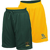 Colosseum Youth Baylor Bears Green/Gold Field Trip Reversible Shorts