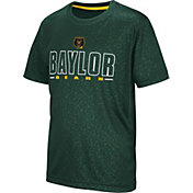 Colosseum Youth Baylor Bears Green Geoweb T-Shirt