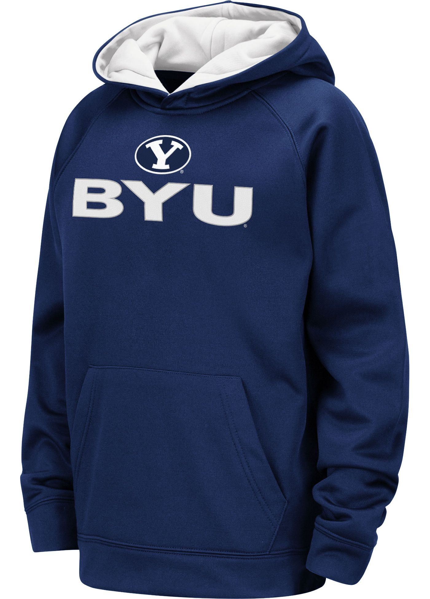 Colosseum Youth BYU Cougars Blue Pullover Hoodie
