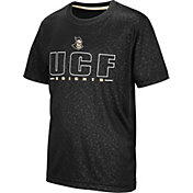 Colosseum Youth UCF Knights Geoweb Black T-Shirt