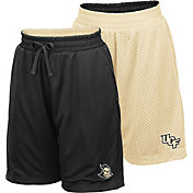 Colosseum Youth UCF Knights Black/Gold Field Trip Reversible Shorts