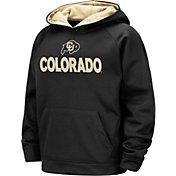 Colosseum Boys' Colorado Buffaloes Pullover Black Hoodie