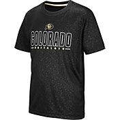Colosseum Youth Colorado Buffaloes Geoweb Black T-Shirt