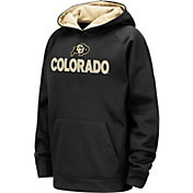 Colosseum Youth Colorado Buffaloes Pullover Black Hoodie
