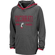 Colosseum Youth Cincinnati Bearcats Grey Narf! Pullover Hoodie