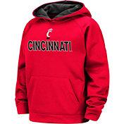 Colosseum Boys' Cincinnati Bearcats Red Pullover Hoodie