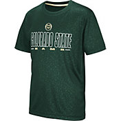 Colosseum Youth Colorado State Rams Green Geoweb T-Shirt