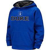 Colosseum Boys' Duke Blue Devils Duke Blue Pullover Hoodie