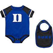 Colosseum Infant Duke Blue Devils Duke Blue Warner 2-Piece Onesie Set
