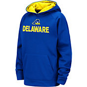 Colosseum Youth Delaware Fightin' Blue Hens Blue Pullover Hoodie