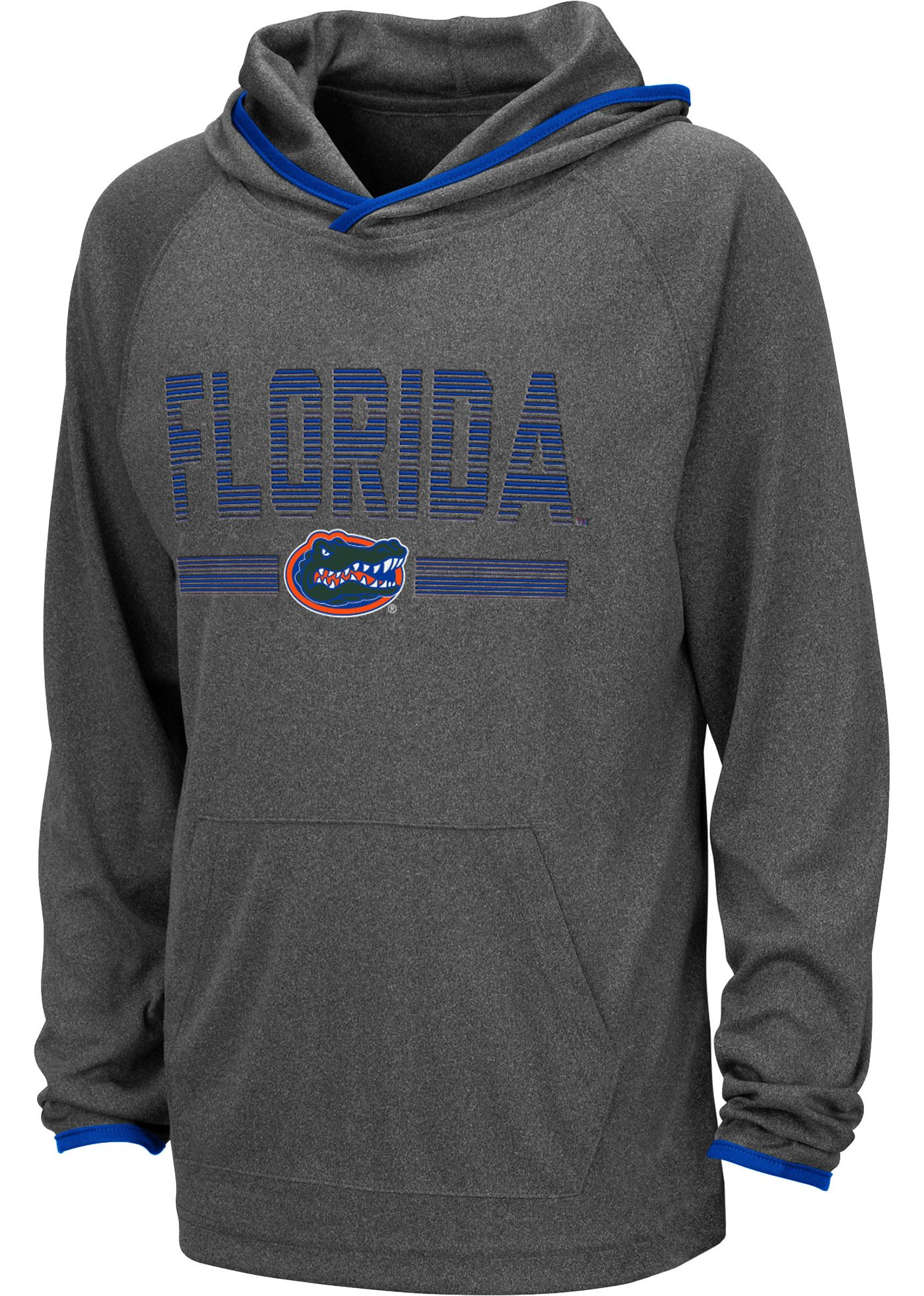 Colosseum Youth Florida Gators Grey Narf! Pullover Hoodie