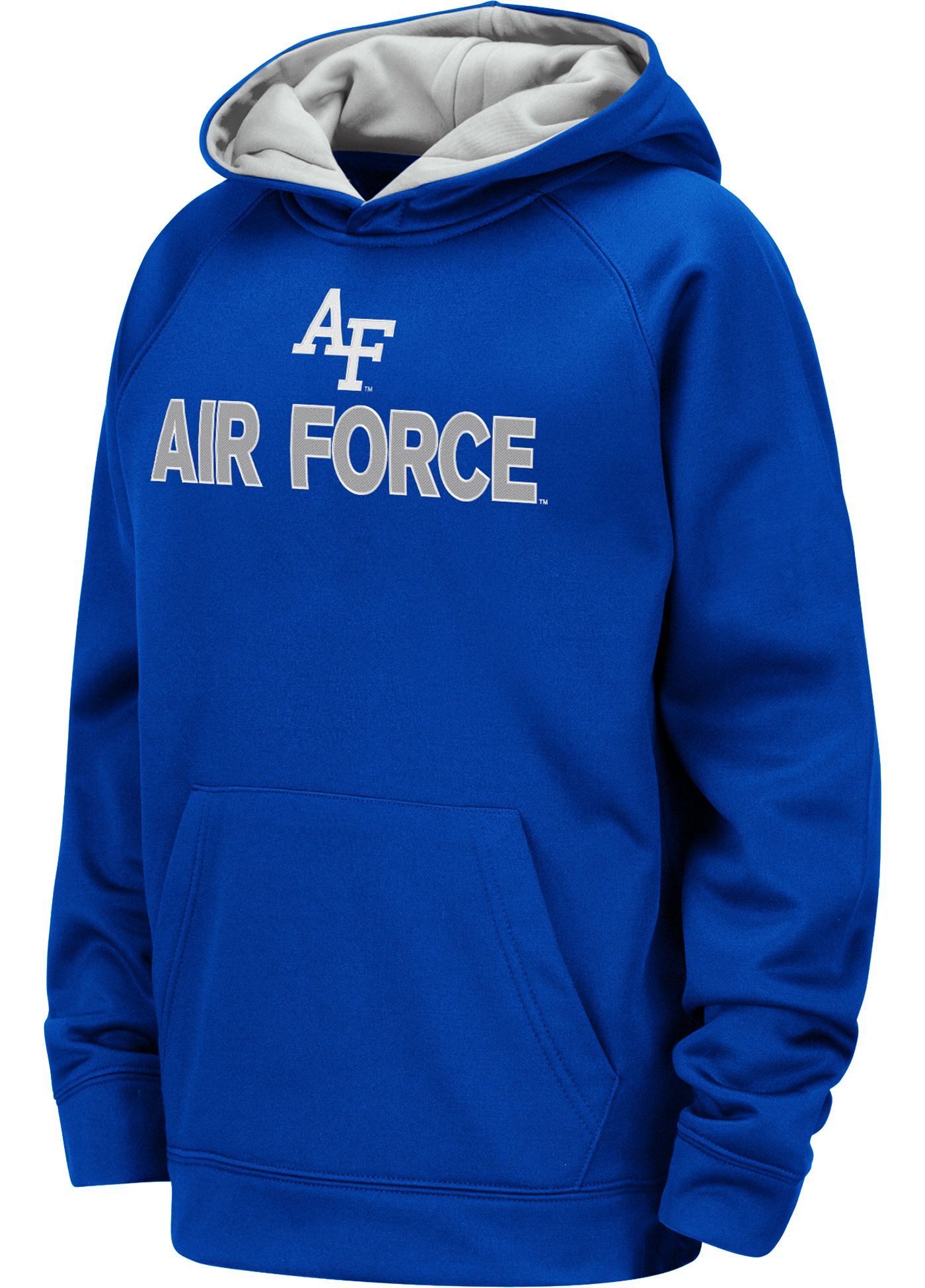Colosseum Youth Air Force Falcons Blue Pullover Hoodie