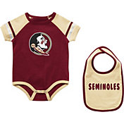Colosseum Infant Florida State Seminoles Garnet Warner 2-Piece Onesie Set