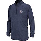 Colosseum Youth Gonzaga Bulldogs Blue Quarter-Zip Shirt