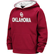 Colosseum Boys' Oklahoma Sooners Crimson Pullover Hoodie