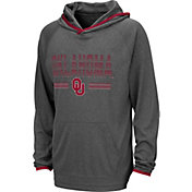 Colosseum Youth Oklahoma Sooners Grey Narf! Pullover Hoodie