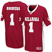 Colosseum Youth Oklahoma Sooners Crimson Max Power Football Jersey