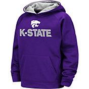 Colosseum Boys' Kansas State Wildcats Purple Pullover Hoodie