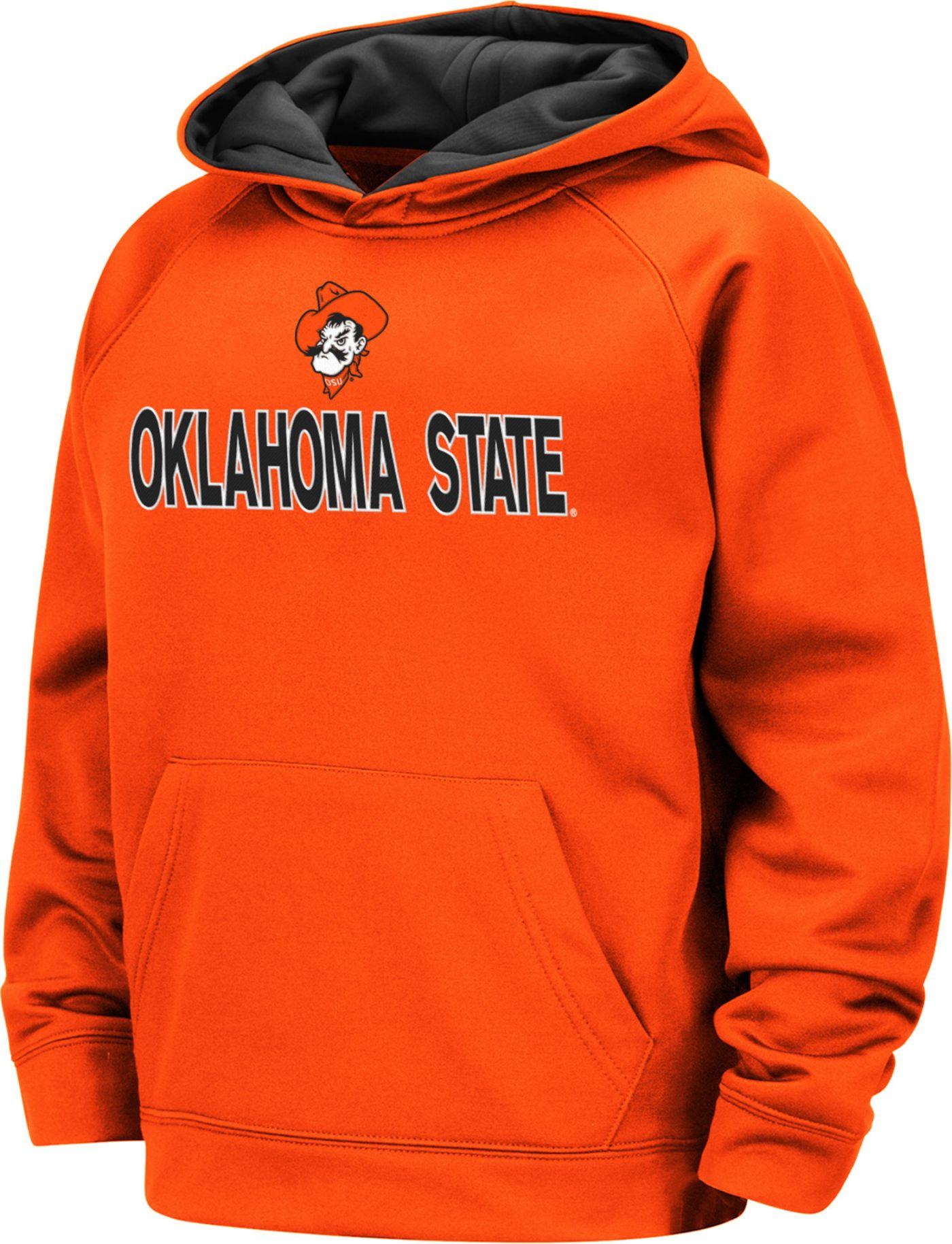 Colosseum Boys' Oklahoma State Cowboys Orange Pullover Hoodie