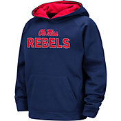 Colosseum Boys' Ole Miss Rebels Blue Pullover Hoodie