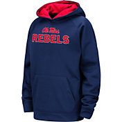 Colosseum Youth Ole Miss Rebels Blue Pullover Hoodie