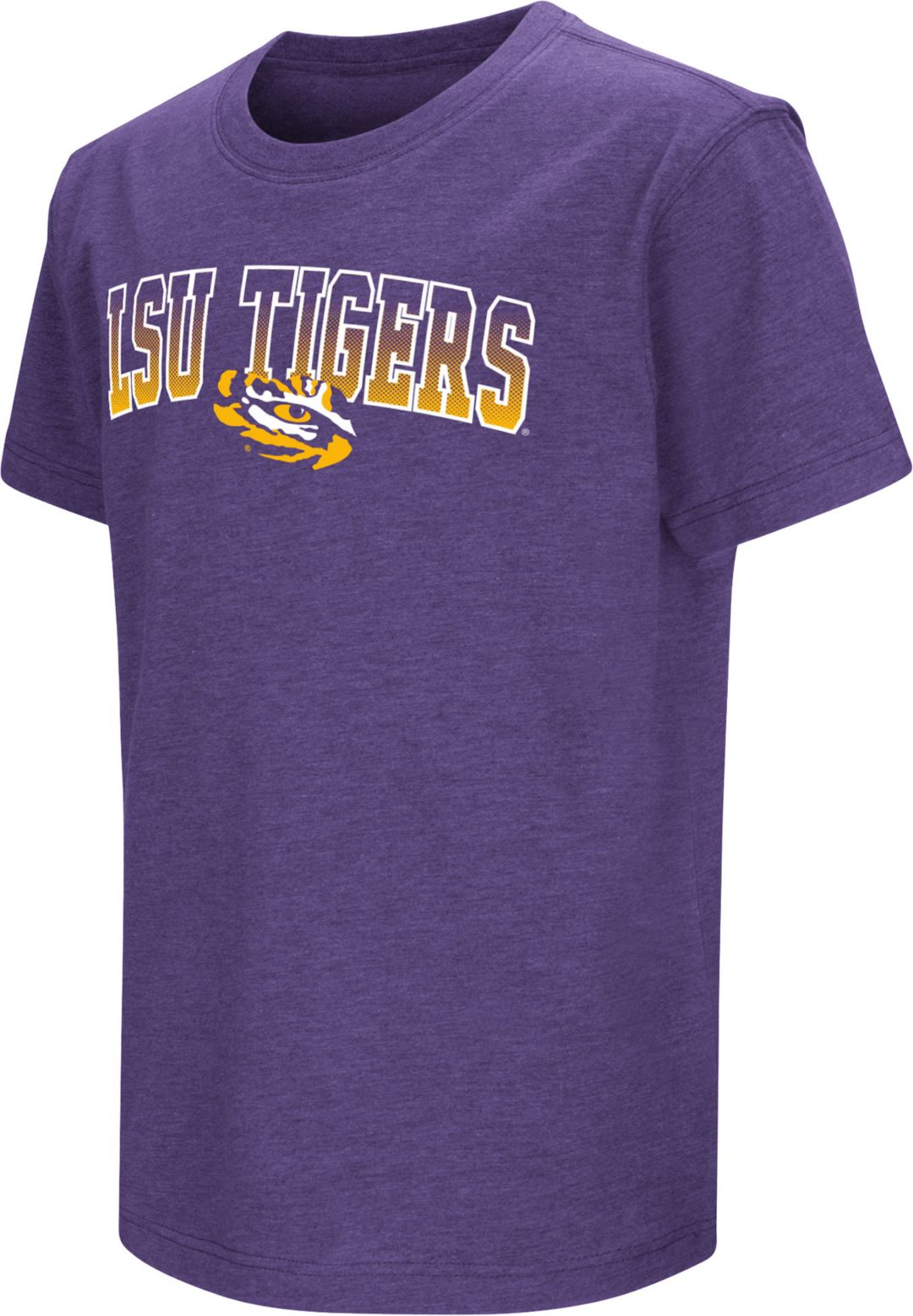 more photos d2744 5ee48 Colosseum Youth LSU Tigers Purple Dual Blend T-Shirt
