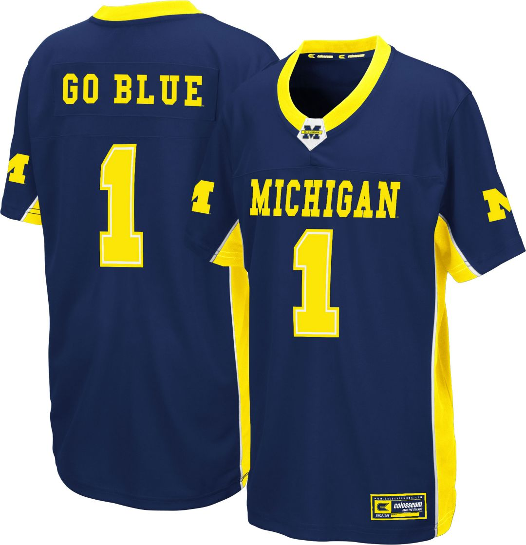Power Jersey Michigan Football Youth Colosseum Max Wolverines Blue fedfdbcaf|Foxborough Free Press