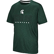 Colosseum Youth Michigan State Spartans Green Geoweb T-Shirt