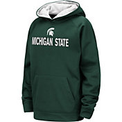 Colosseum Youth Michigan State Spartans Green Pullover Hoodie