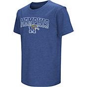 Colosseum Youth Memphis Tigers Blue Dual Blend T-Shirt