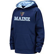 Colosseum Youth Maine Black Bears Blue Pullover Hoodie