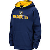 Colosseum Youth Marquette Golden Eagles Blue Pullover Hoodie
