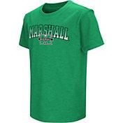 Colosseum Youth Marshall Thundering Herd Green Dual Blend T-Shirt