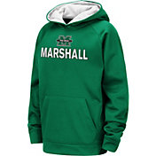 Colosseum Youth Marshall Thundering Herd Green Pullover Hoodie