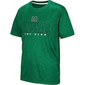 Colosseum Youth Marshall Thundering Herd Green Geoweb T-Shirt
