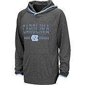 Colosseum Youth North Carolina Tar Heels Grey Narf! Pullover Hoodie