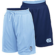Colosseum Youth North Carolina Tar Heels Carolina Blue/Navy Field Trip Reversible Shorts
