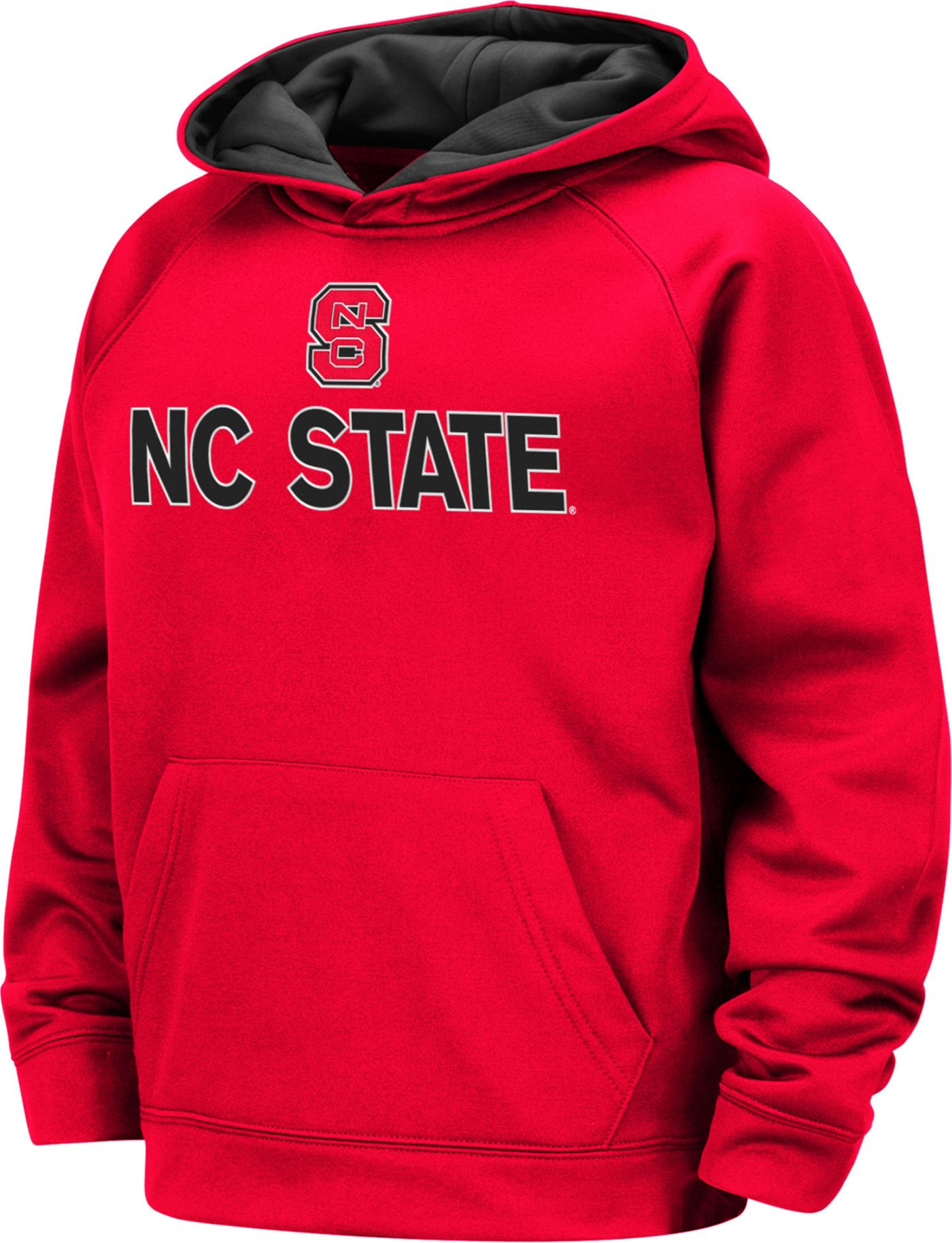 Colosseum Boys' NC State Wolfpack Red Pullover Hoodie