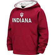 Colosseum Boys' Indiana Hoosiers Crimson Pullover Hoodie