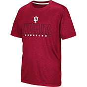 Colosseum Youth Indiana Hoosiers Crimson Geoweb T-Shirt