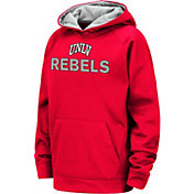 Colosseum Youth UNLV Rebels Scarlet Pullover Hoodie