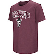 Colosseum Youth New Mexico State Aggies Maroon Dual Blend T-Shirt