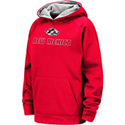 Colosseum Youth New Mexico Lobos Cherry Pullover Hoodie